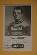 CYCLISME: PIERRE HERBERT - Cycling