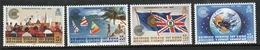 British Virgin Islands 1983 Queen Elizabeth Set Of Stamps Celebrating Commonwealth Day. - British Virgin Islands