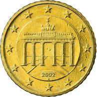 République Fédérale Allemande, 50 Euro Cent, 2002, SUP, Laiton, KM:212 - Allemagne