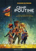 Dossier De Presse - Camp Poutine T1 - Aurélien Ducoudray, Anlor - Bamboo - Livres, BD, Revues