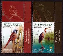 "SLOVENIA/Slowenien EUROPA 2019 ""National Birds"" Set Of 2v** - 2019"