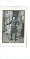 Cyrano De Bergerac Théâtre Edmond Rostand Chromo Bien 120 X 80 Mm 2 Scans - Cromos