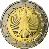 République Fédérale Allemande, 2 Euro, 2002, TTB, Bi-Metallic, KM:214 - Allemagne