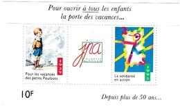 Timbres Jeunesse Au Plein Air (JPA) - Depuis Plus De 50 Ans ... 1939 - 1995 - Commemorative Labels
