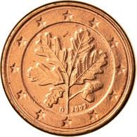 République Fédérale Allemande, Euro Cent, 2002, SUP, Copper Plated Steel - Allemagne
