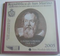 San Marino, 2 Euro, 2005, FDC, Bi-Metallic, KM:469 Saint-Marin RARE - Saint-Marin