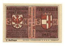 1921 - Austria - Imst Notgeld N93 - Austria