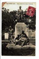 CPA - Carte Postale FRANCE- Paris-Statue D' Emile Zola-1934 VM3327 - Frankrijk