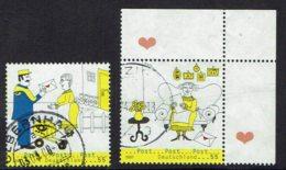 BRD, 2007, MiNr 2620,2621, Gestempelt - [7] République Fédérale