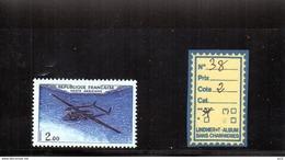 PA LUXE** N°38 - 1960-.... Neufs