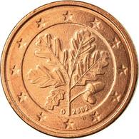 République Fédérale Allemande, 2 Euro Cent, 2002, SUP, Copper Plated Steel - Allemagne
