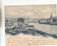 Gruss Aus Solothurn - Doppelkarte - 1899      (P-168-70820) - SO Solothurn