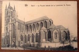 Gand La Facade Laterale De La Cathedrale St. Bavon 1912 - Gent
