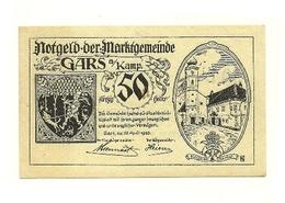 1920 - Austria - Gars Am Kamp Notgeld N94 - Austria