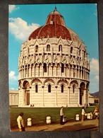 (FG.O58) PISA - IL BATTISTERO Animata (NV) - Pisa