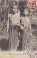"""LAOS : CP . OBL ."""" PAKLAY """" . 1911 . POUR PARIS . - Laos"""
