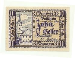 1920 - Austria - Gampern Notgeld N95 - Austria