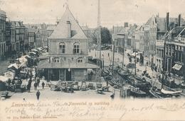 CPA - Pays-Bas - Leeuwarden - Nieuwestad Op Marktdag - Leeuwarden