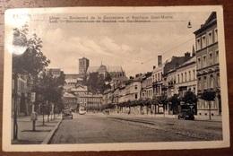 Liege Boulevard De La Sauveniere Et Basilique Saint Martin - Liège