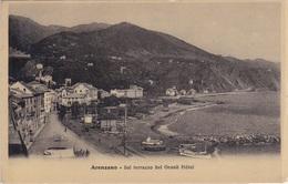 ARENZANO DAL TERRAZZO DEL GRAND HOTEL VG AUTENTICA 100% - Genova (Genoa)