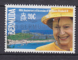 Bermuda 1992 Mi. 606    20 C 40th Coronation Anniversary Elizabeth II. - Bermuda