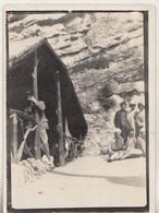 Après Une Visite Aux Grottes De Remouchamps - 1930 - Photo Format 6.5 X 9 Cm - Places
