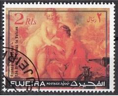 """Fujeira 1971 """"La Visita Di Venere A Vulcano"""" Quadro Dipinto Da F. Boucher Preobliterato Rococo Paintings - Fujeira"""