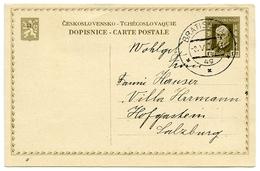 CZECH : DOPISNICE KR 1.20 - POSTAL STATIONERY, 1930 - Entiers Postaux