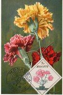MONACO CARTE MAXIMUM OEILLET 1959 - Cartoline Maximum