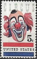 USA 1966 The American Circus - 5c Lou Jacobs (clown) MNH - Neufs