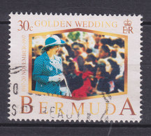 Bermuda 1997 Mi. 727      30 C Golden Wedding Goldene Hochzeit - Bermuda