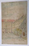 AK   WIEN  LITHO   HOLD TO LIGHT    PRE-1904. - Halt Gegen Das Licht/Durchscheink.