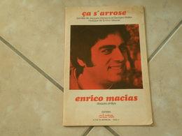 Ça S'arrose & J'ai Le Coeur Qui Bat (Musique Enrico Macias)(Paroles Jacques Demarny) - Partition 1970 - Scores & Partitions