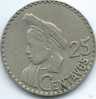 Guatemala - 25 Centavos - 1965 - KM268 - Guatemala