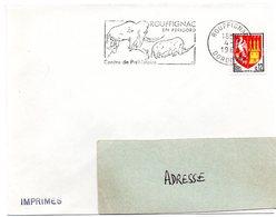 DORDOGNE - Dépt N° 24 = ROUFFIGNAC 1965 = FLAMME Non Codée = SECAP Illustrée MAMMOUTH' PREHISTOIRE En PERIGORD' - Prehistory