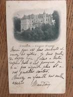 CPA, CHIMAY, Chateau (Façade), écrite En 1903, 2 Timbres, éditions E.Lebrun - Chimay