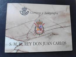 ESPAÑA. AÑO 1998.DOS CARNÉS De  DON JUAN CARLOS I - Blocs & Feuillets