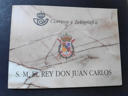 ESPAÑA. AÑO 1998.DOS CARNÉS De  DON JUAN CARLOS I - Blocks & Sheetlets & Panes