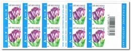 België 2006, Postfris MNH, Flowers ( Booklet, Carnet ) - Booklets 1953-....