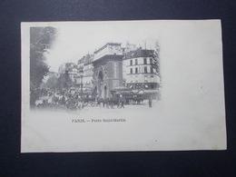 Carte Postale - PARIS 10ème (75) - Porte Saint Martin (2866) - Arrondissement: 10