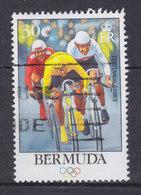 Bermuda 1996 Mi. 692    30 C Olympic Games Olympische Spiele Radfahren Bicycling - Bermuda