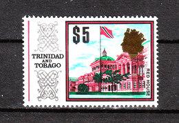 Trinidad &Tobago -1969. Palazzo Del Governo. Alto Valore Della Serie. Government Building. High Value Of The Series.MNH - Monumenti