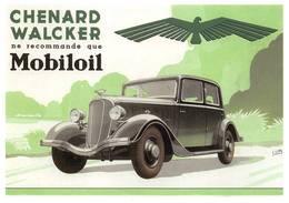 Chenard Walcker Mobiloil Illustrateur Lupa - Voitures De Tourisme