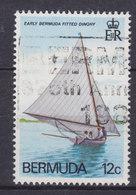 Bermuda 1983 Mi. 426      12c. Jollen Mit Bermuda-Rigg Segeln Mit Halben Wind - Bermuda