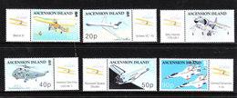 Ascension - 2003. Centenario Dell' Aviazione. Centenary Of Aviation. Complete MNH With Vignette Series - Aerei