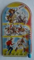 RARE Petit FLIPPER MANUEL - FARWEST  COWBOY ET INDIENS 60's - 70's Pas LONE RANGER - Toy Memorabilia