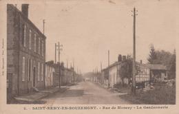 51 SAINT-REMY-DE-BOUZEMONT RUE DE MONCEY LA GENDARMERIE - Saint Remy En Bouzemont