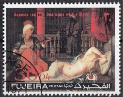 "Fujeira 1971 ""L'Odalisca Con Schiava"" Quadro Dipinto Da J.A.D. Ingres Preoblit. Neoclassicismo Painting Tableau - Fujeira"
