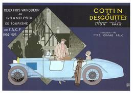 Cottin Desgouttes Illustrateur Géo Gaumet - Voitures De Tourisme