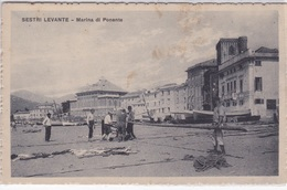 SESTRI LEVANTE  MARINA DI PONENTE  AUTENTICA 100% - Genova (Genoa)